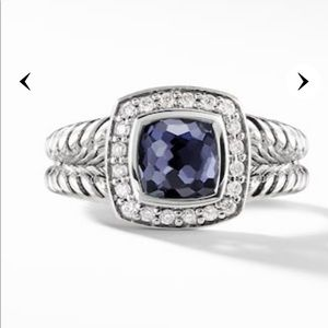 David Yurman Albion Ring Black Orchid Diamonds